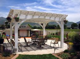 Timber Pergola Kits by 14 Wonderfully White Outdoor Shade Structures Western Timber Frame