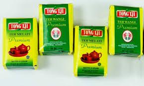 Teh Bubuk 4 pcs of tongtji teh melati premium 10 gram tong tji tea