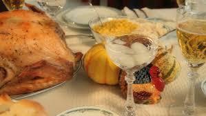 thanksgiving dinner stock footage 2160716