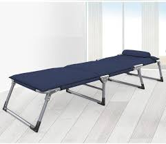 le folding reinforcement office simple lunch three single cot