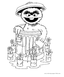 sesame street alphabet coloring pages child coloring oscar