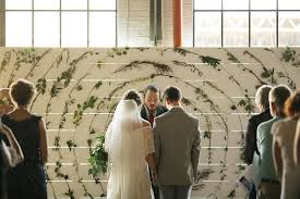 wedding backdrop alternatives creative ceremony backdrops marisa events