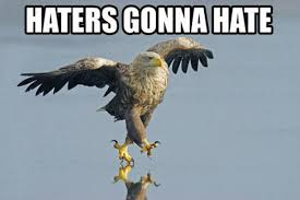 Hater Gonna Hate Meme - haters gonna hate know your meme