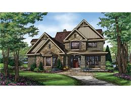 4 bedroom craftsman house plans shingle stunner hwbdo77452 craftsman from