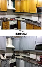 spray painting kitchen cabinets edinburgh spraypaint how to paint a kitchen with spray paint pintyplus