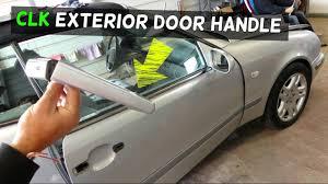 mercedes benz clk 430 owners manual mercedes clk w208 exterior door handle removal replacement clk230