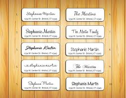 personalized return address labels family name 2 j s graphics