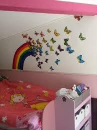 chambre filles arc en ciel de papillons chambre filles arcs en ciel et arcs de tir