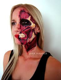 Skeleton Face Paint For Halloween 100 halloween half face paint ideas dead face makeup sugar