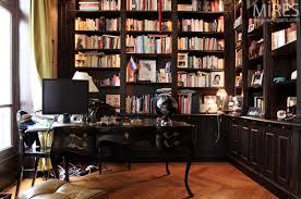 bibliotheque de bureau un bureau bibliothèque noir c0733 mires