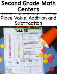 2nd grade place value math centers u2013 create abilities