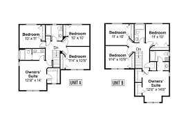 multifamily house plans multifamily home plans family home plans gallery of two family house