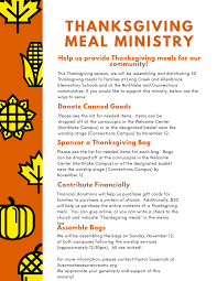 thanksgiving meal ministry assurance