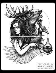 rubedo 006 occult occultart art pen ink sketch surrealism