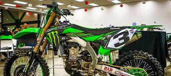 monster energy motocross gear 2017 monster energy kawasaki supercross team intro dirt rider