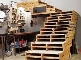 cuisine en palette bois captivating palette deco design cuisine sur escalier en palettes de