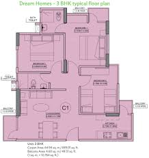 dream home floor plans wave dream homes in dasna ghaziabad price location map floor