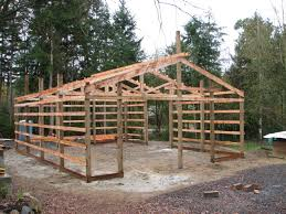 Gambrel Roof Barns Pole Barn Roof Framing Roofing Decoration