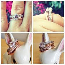 Stacked Wedding Rings by I Need More Mismatched Stacked Ring Weddingbee