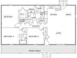 three bedroom floor plans cabin plans simple 2 bedroom plan small two floor bath spacious