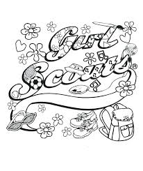 girl scout ribbon cookies coloring pages girl scout cookie coloring pages together