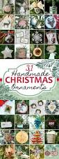 31 diy christmas ornaments domestically speaking