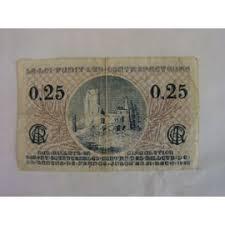chambre de commerce arras billet de 0 25 f chambre e commerce d arras 1923 achat et vente