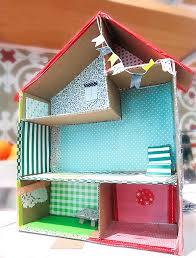 How To Make A Dollhouse Out Of A Bookcase 6 Ways To Make A Cardboard Dollhouse Handmade Charlotte