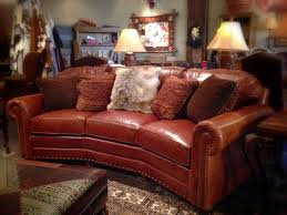 rustic leather couch aftersock