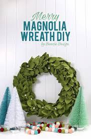 magnolia wreath benzie design