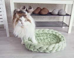 Cat Bed Pattern Felt Cat Cave Tutorial Cat Bed Pattern Downloadable Pdf
