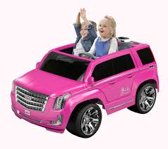 power wheels jeep yellow power wheels barbie cadillac escalade 12 volt ride on pink
