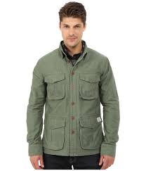deus ex machina bravo overshirt jacket in green for men lyst