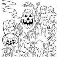 coloring pages of scary clowns scary halloween coloring pages printable bootsforcheaper com