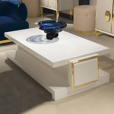 Modern Italian Coffee Tables High End Modern Italian Designer Ivory Coffee Table Juliettes