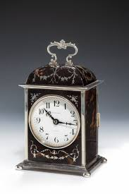 Large Silver Mantel Clock 682 Best Tortoise Objects From Europe Images On Pinterest