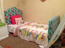 Twin Bed Upholstered Headboard by 68 Best U0027s Room Beds Images On Pinterest Princess Beds