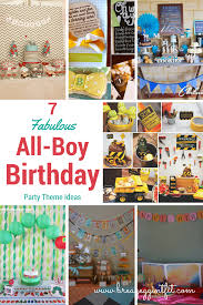 1st birthday party themes for boys 7 all boy 1st birthday party ideas