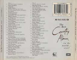 cd album various artists the best country album in the world