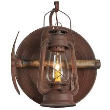 Lantern Wall Sconce 114829 Miners Lantern Wall Sconce