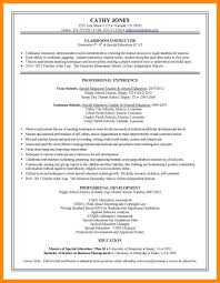 Special Education Resume Examples 9 Resume Samples For Teacher Manager Resume