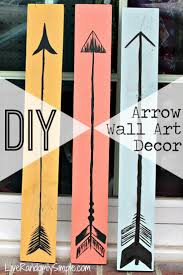 diy boho wooden arrow decor wooden arrows wall art decor and