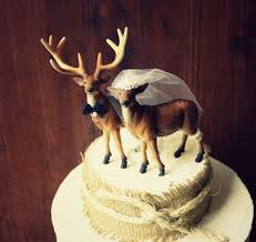 antler cake topper wedding cake topper weddingbee
