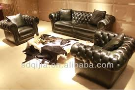 Chesterfield Sofa Set Chesterfield Leather Sofa Set Living Room Furniture Buy