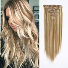 in hair extensions clip in hair extension highlights p 10 613