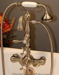 Tub Faucet With Handheld Shower 8 Best Clawfoot Tub Faucets Images On Pinterest Faucets Hand