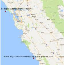 Map Ca Map Of Ca Coast Rhfrnb Osu Bio Museum