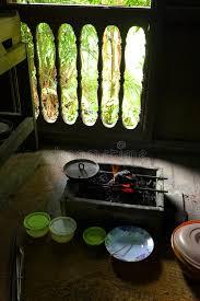 cuisine n駱alaise batteries de cuisine dans la cuisine malaise ethnique image stock