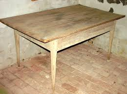 Primitive Kitchen Table by 727 Primitive Kitchen Table Pegged Together With 3 Board Top