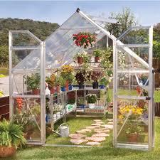 Palram Polycarbonate Greenhouse Palram 8 X 12ft Balance Silver Greenhouse With Polycarbonate